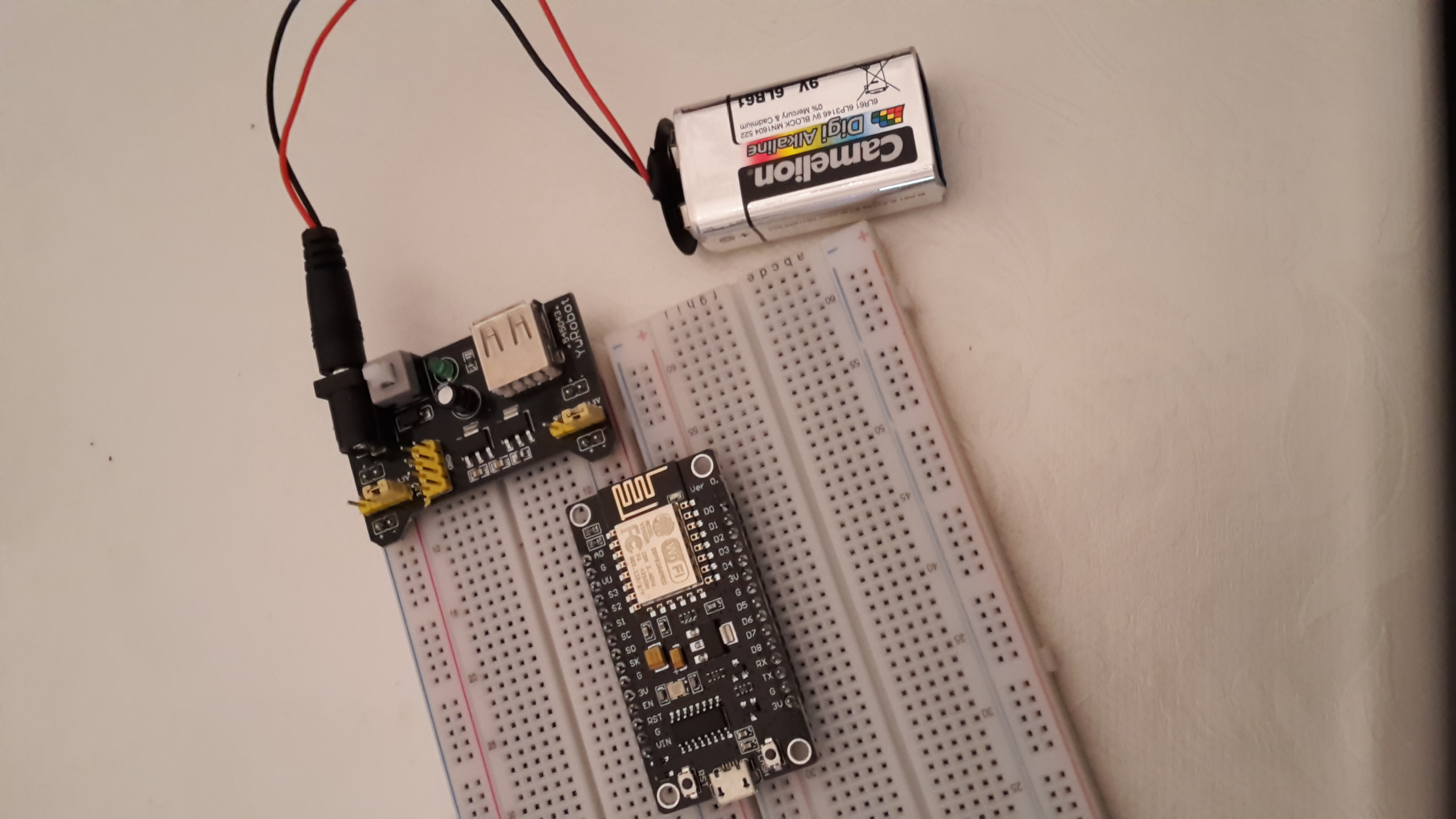 WiFi thermometer using NodeMCU, DHT22 and Flask | Web